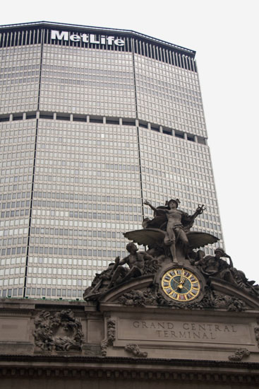 Grand Central Terminal und MetLife-Building